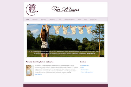 Ten Moons - Independent Midwifery Services in Melbourne, VIC Australia