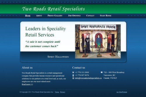 Two Roads Retail Specialists - The road less travelled